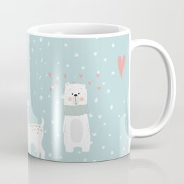 Fawn and Bear Coffee Mug