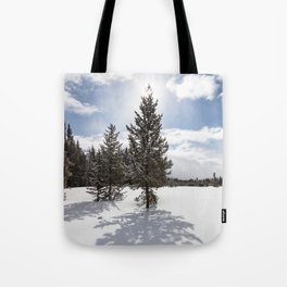 Gardners Hole, Yellowstone National Park Tote Bag