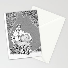 The Satyr Stationery Cards