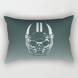 Final Touchdown - FADED CERULEAN Rectangular Pillow