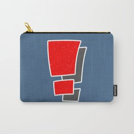 Exclamation Carry-All Pouch