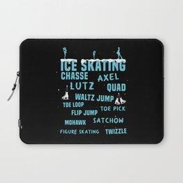 Ice Skating Trick Laptop Sleeve