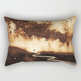 Through The Fire Rectangular Pillow