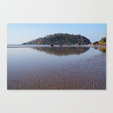 Across the Water to Monkey Island, Palolem Canvas Print