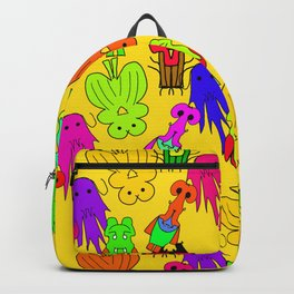 Yellow Clown Backpack
