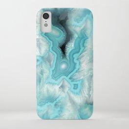 Aqua Sea Stone iPhone Case