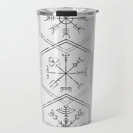 Three runes Travel Mug