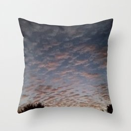 Texas Hill Country Sky - Sunrise 8 Throw Pillow