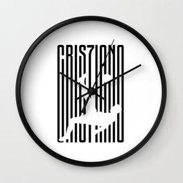 CRIS7IANO RONALDO Wall Clock