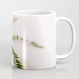 Mimosa leaves - nature tree photography by Ingrid Beddoes Coffee Mug