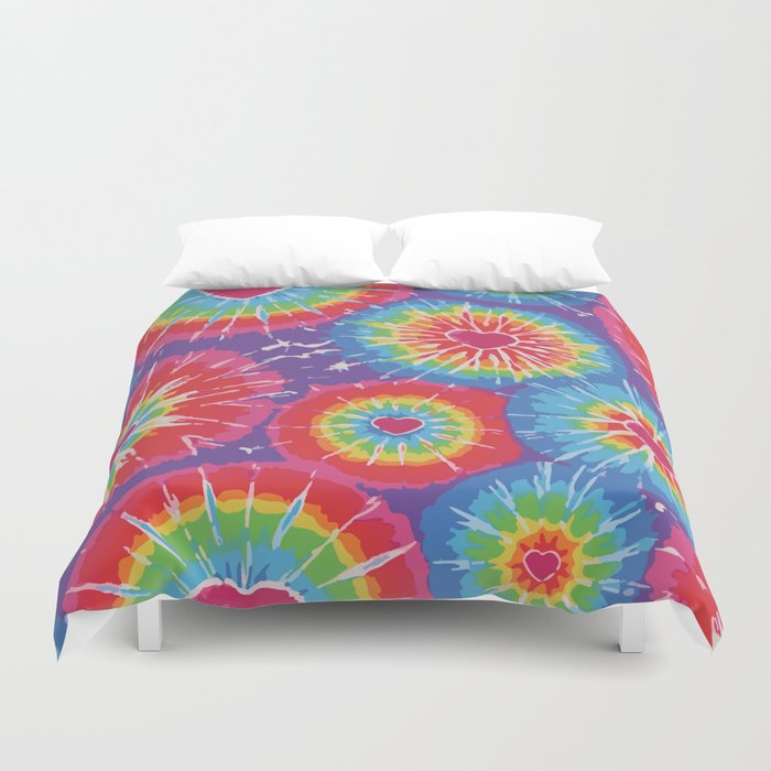 Love Tye Dye Duvet Cover