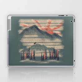 Mountain Goat Drifter... Laptop & iPad Skin