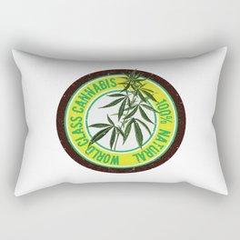 World Class Cannabis Rectangular Pillow