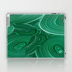 Green Malachite Nature Pattern Design Abstract Laptop & iPad Skin
