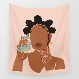 Mo' Money, No Problems Wall Tapestry