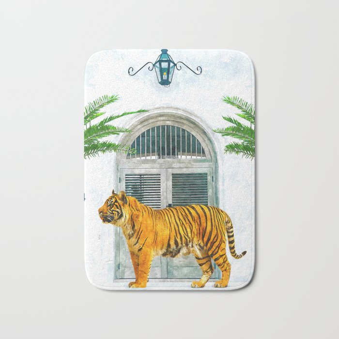 94 Tropical #painting #wildlife Bath Mat