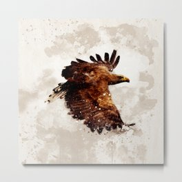 Awesome eagle Metal Print