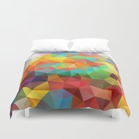 candy Duvet Covers featuring Candy by Veronika
