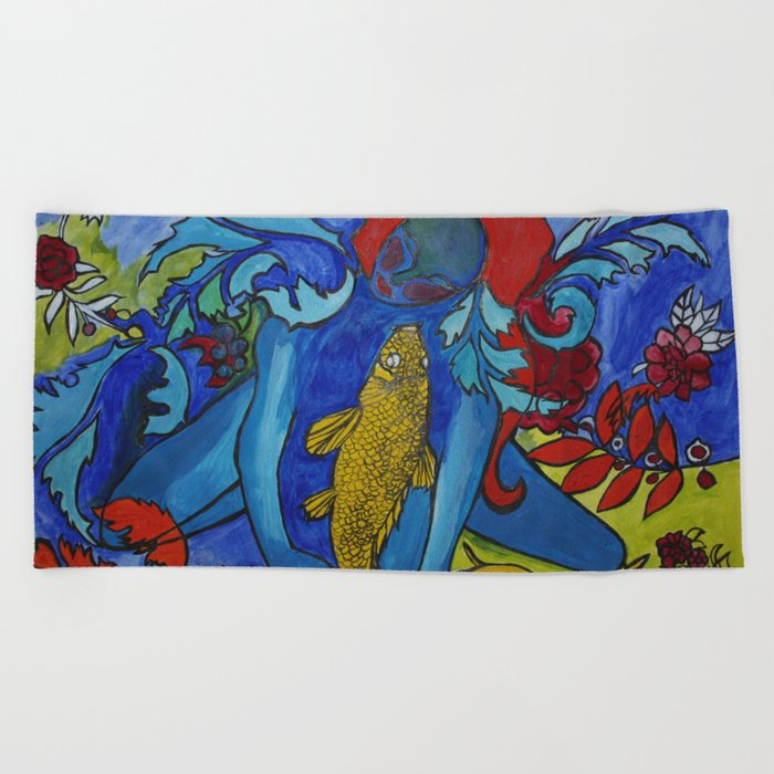 My Fish Beach Towel