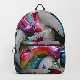 Unicorn Birthday Balloons Backpack