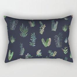 green garden at nigth Rectangular Pillow
