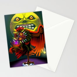Majora's Masked Owl Stationery Cards
