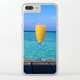 Mimosa and a View Clear iPhone Case