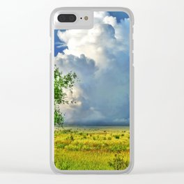 Sommertag Clear iPhone Case