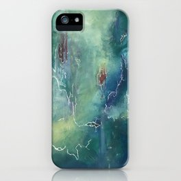 Green Horizons iPhone Case