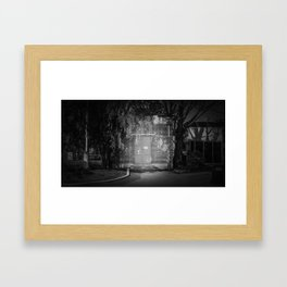 The Christchurch Electricity Substation Project XVI Framed Art Print
