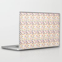 quilt Laptop & iPad Skins featuring Quilt by Anh-Valérie