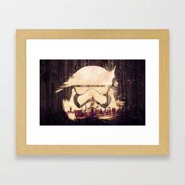 NYC Stormtrooper Framed Art Print