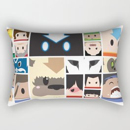 The Four Nations Rectangular Pillow
