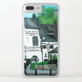 The Oldest Inn In England Acrylic Fine Art Clear iPhone Case