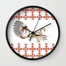 Chief Wall Clock