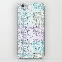 marty mcfly iPhone & iPod Skins featuring Marty by Kats Illustration