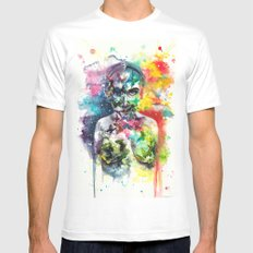 The Butterfly effect MEDIUM White Mens Fitted Tee