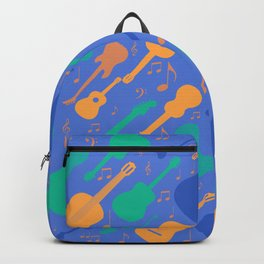 Guitars and notes musicians Backpack