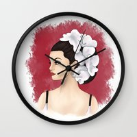 selena Wall Clocks featuring Selena by Quinn