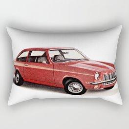 1970's Chevy Vega Rectangular Pillow