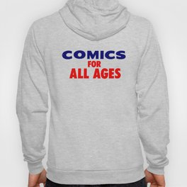 Comics for All Ages Hoody