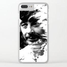 Benicio del Toro 32 Clear iPhone Case