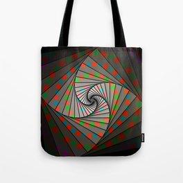 Fibonacci Spin, 2140d Tote Bag