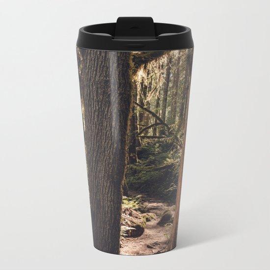 Forest Wonderland Metal Travel Mug