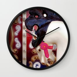 toy horse Wall Clock