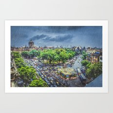 Chhatrapati Shivaji Terminus 1 Art Print