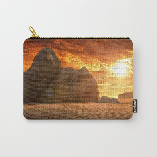 Beautiful sunset  Carry-All Pouch