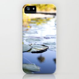 Lily Pads & Palm Trees iPhone Case