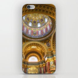 St Stephen's Cathedral Budapest iPhone Skin