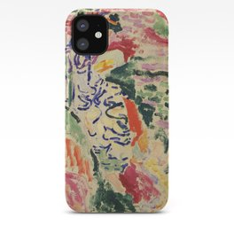 La Japonaise Woman beside the Water by Henri Matisse iPhone Case
